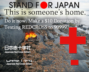 Stand for Japan: Donate Now!