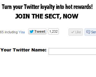 Turn your Twitter loyalty into hot rewards