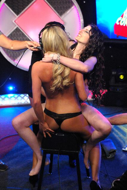 Bree Olson with Sabrina Deep